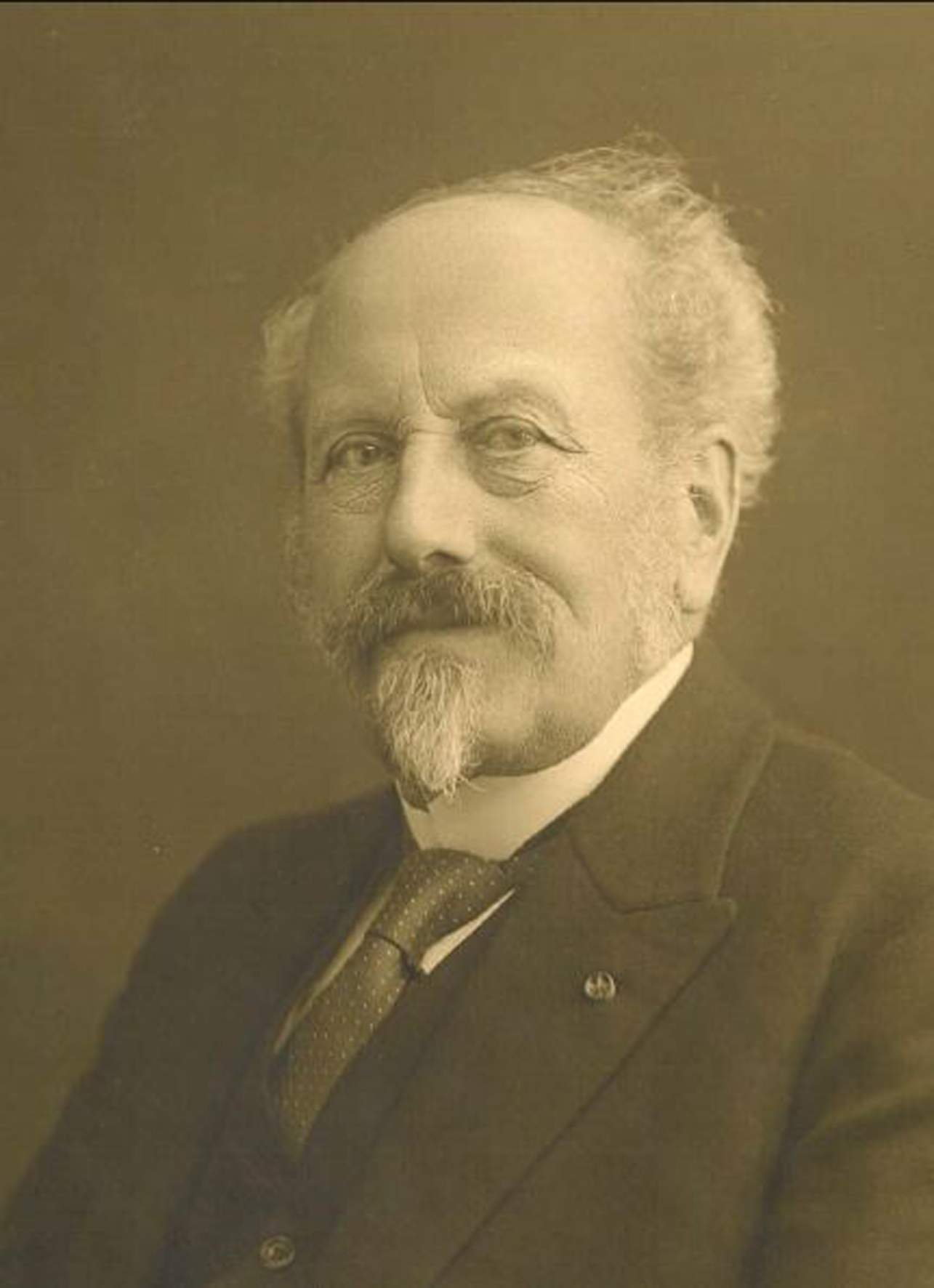 Dr Cornelis Lely (1854-1929), the creator of the Zuiderzee project.
