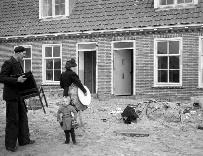 First residents move into their home, 1943.