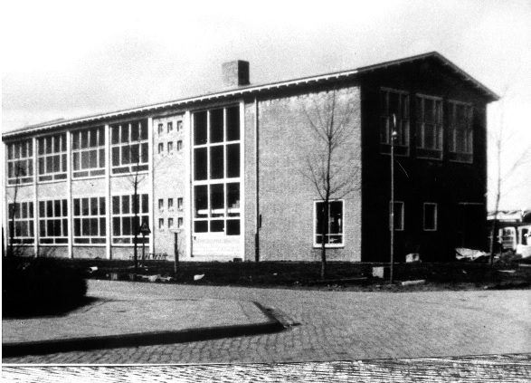 R. Catholic ULO School (Bonifatius mavo) in 1954.